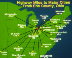 Highway Miles to Major Cities