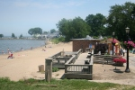 Main Street Beach in Vermilion